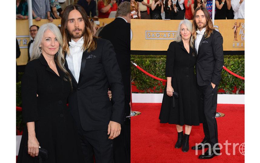 Джаред Лето с мамой Констанс Лето. Фото Getty