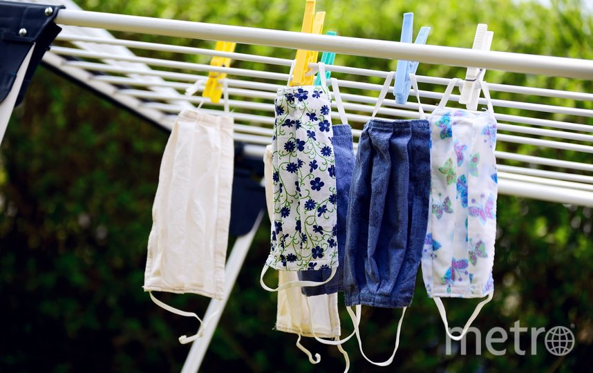 Тканевые маски необходимо стирать как минимум раз в день. Фото pixabay.com
