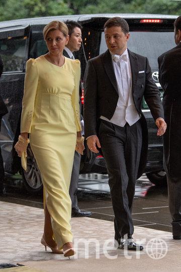 Елена Зеленская с мужем. Фото Getty