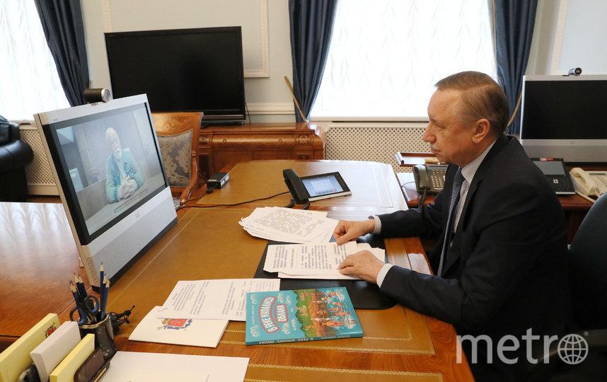 Беглов провёл встречу с общественниками города в онлайн-режиме. Фото gov.spb.ru