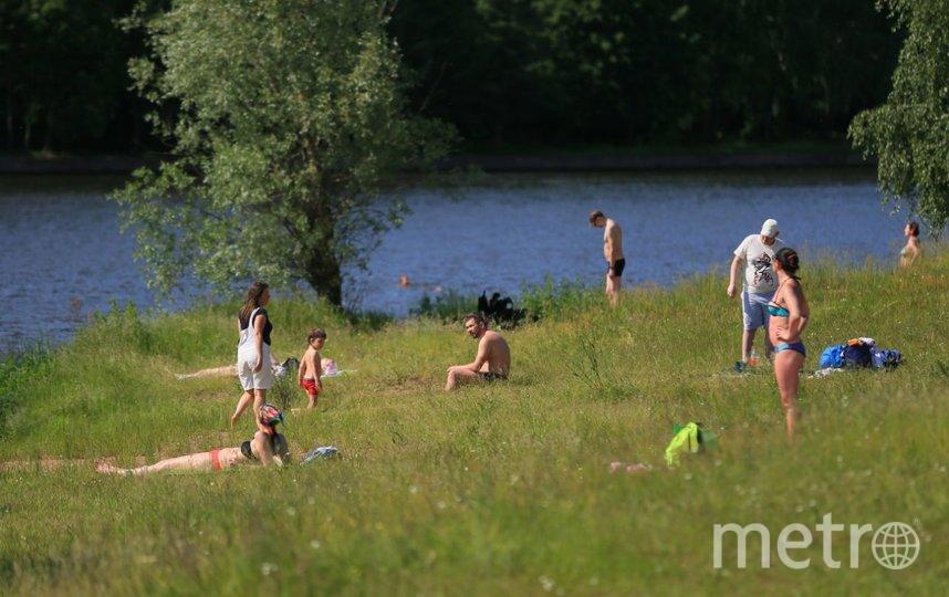 Открытие пляжного сезона в Подмосковье. Фото Василий Кузьмичёнок