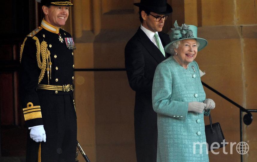 В Лондоне официально отметили день рождения королевы Великобритании Елизаветы II. Фото AFP