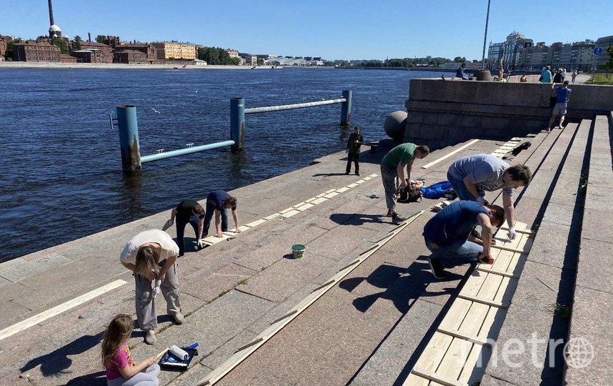 Активисты создали зону отдыха своими руками. Фото mytndvor, vk.com
