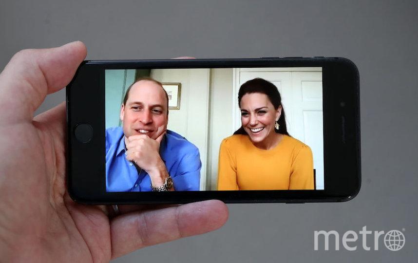 Принц Уильям и Кейт Миддлтон из-за коронавируса проводят много онлайн-встреч. Фото Getty