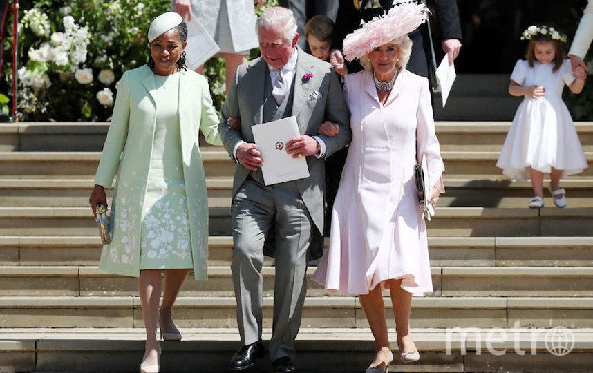 Мама Меган Маркл, принц Чарльз и Камилла Паркер Боулз. Фото Getty