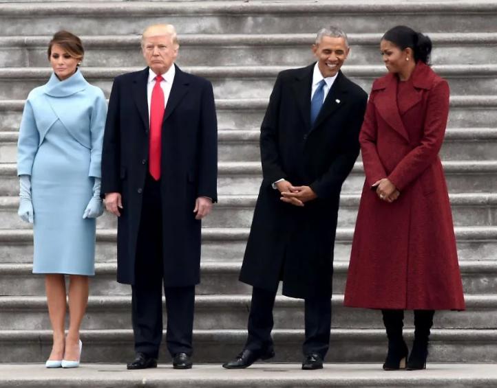 Обама – образцовый семьянин и любящий муж по сравнению с Трампом. Фото Скриншот Twitter @anikafiesta