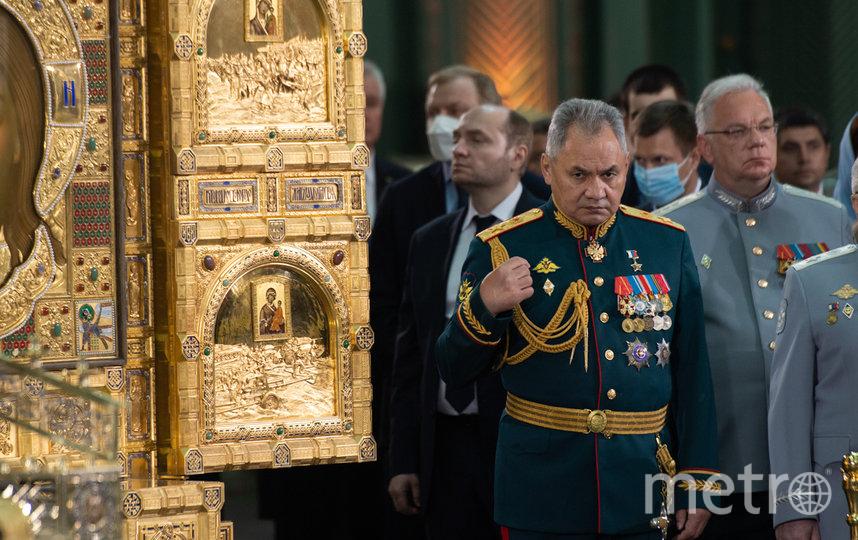 Министр обороны Сергей Шойгу лично контролировал строительство. Фото Андрей Русов