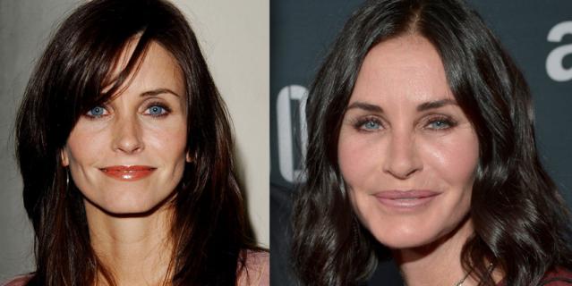 Фото актрисы - 2002 год и 2015 год.