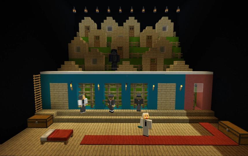 """Вот так выглядит """"Вишневый сад"""" во вселенной Minecraft. Фото скриншот YouTube, Скриншот Youtube"""