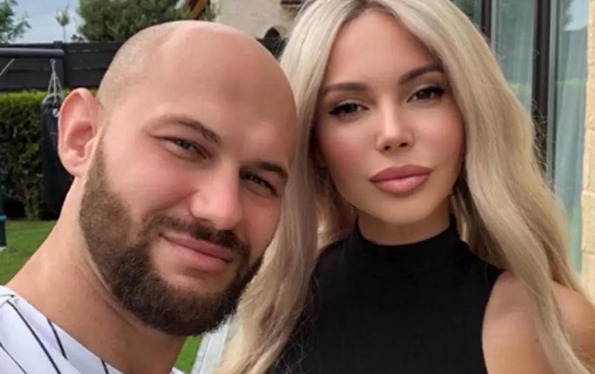 Оксана Самойлова и Джиган. Фото Instagram @samoylovaoxana