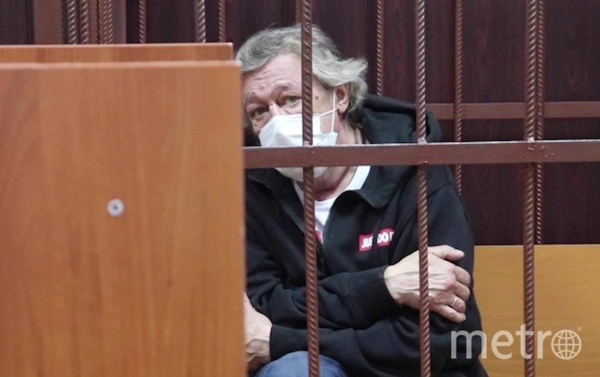 Михаил Ефремов попал в ДТП в центре Москвы вечером 8 июня. Фото РИА Новости
