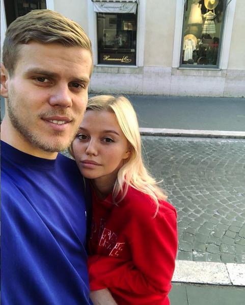 Дарья Валитова и Александр Кокорин. Фото скриншот: instagram.com/dariavalitova/