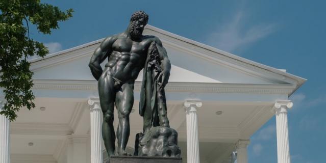 Возвращение Геракла - это примерно то же, что возвращение Самсона в Петергоф.