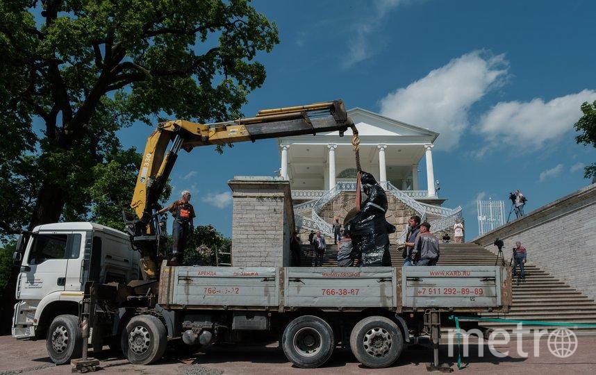 """Возвращение Геракла - это примерно то же, что возвращение Самсона в Петергоф. Фото Алена Бобрович, """"Metro"""""""