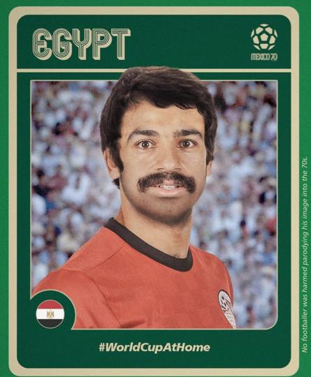 Мохаммед Салах. Фото Instagram @fifaworldcup