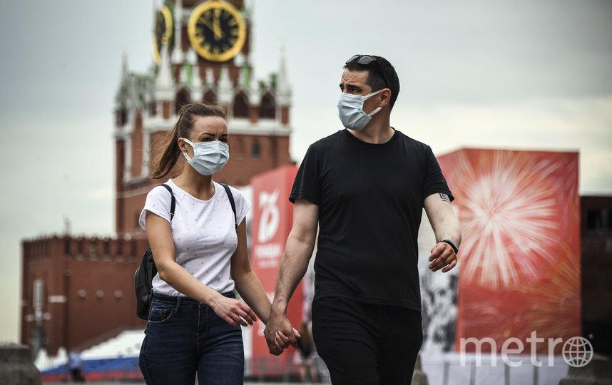 Москва постепенно начинает снимать ограничения, введённых из-за распространения коронавируса. Фото AFP