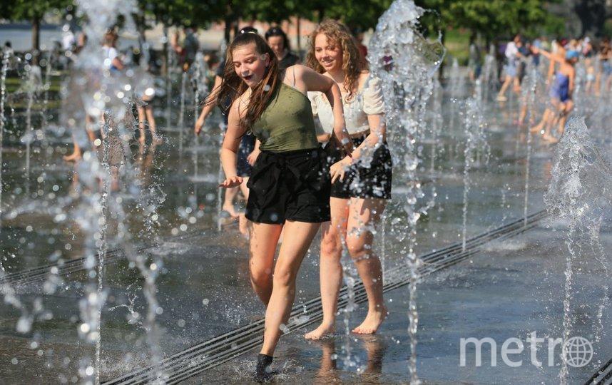 """+31 градус в Москве. Фото Василий Кузьмичёнок, """"Metro"""""""