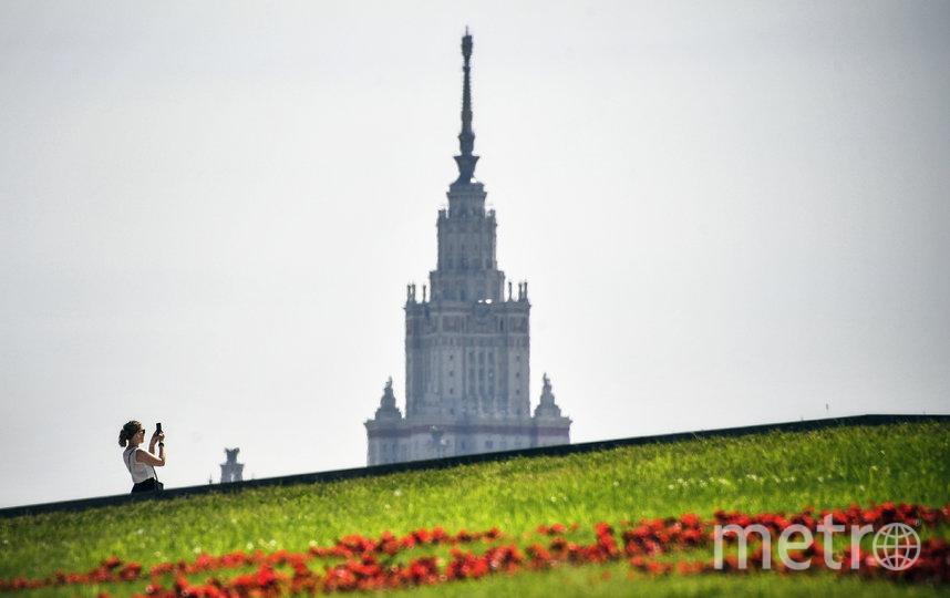 Жара в Москве надолго не задержится. Фото AFP