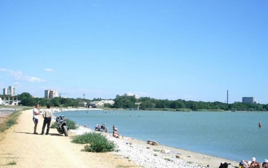 Озеро Мойнаки, Евпатория. Фото my-evp.ru