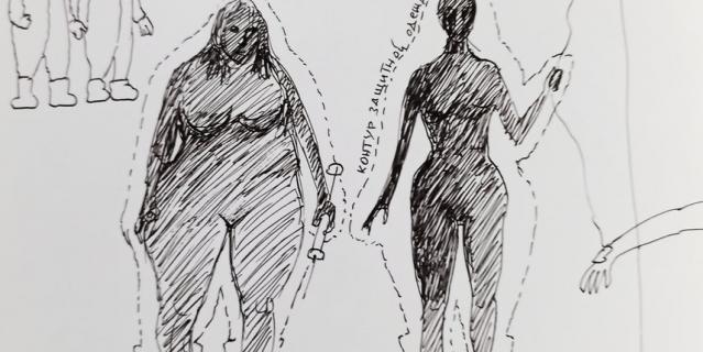 Рисунки Александра.
