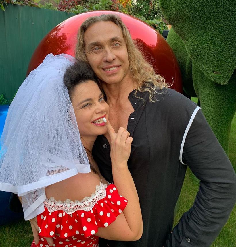 Наташа Королёва и её супруг Сергей Глушко. Фото Instagram @koroleva__star