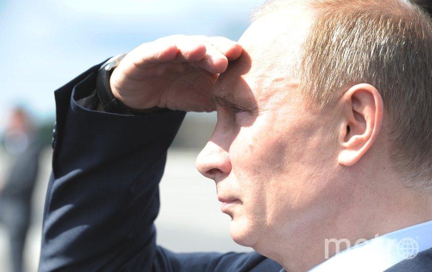 Владимир Путин. Фото архив, Getty