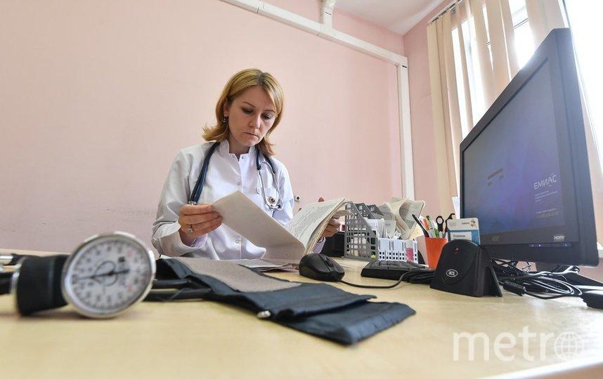 """Как правило, расчёт больничного производится исходя из средней зарплаты и страхового стажа сотрудника. Фото агентство """"Москва"""""""