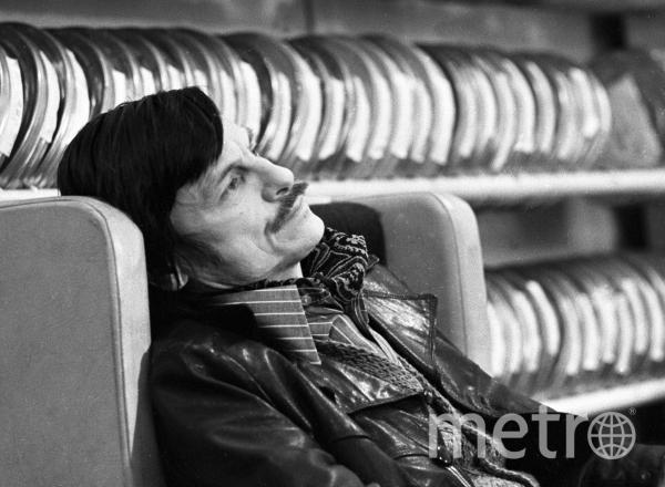 Андрей Тарковский. Фото Соловьев., РИА Новости