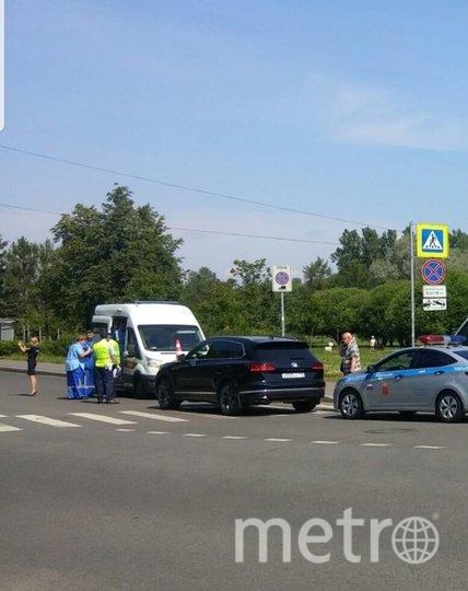 ДТП в Колпино. Фото vk.com