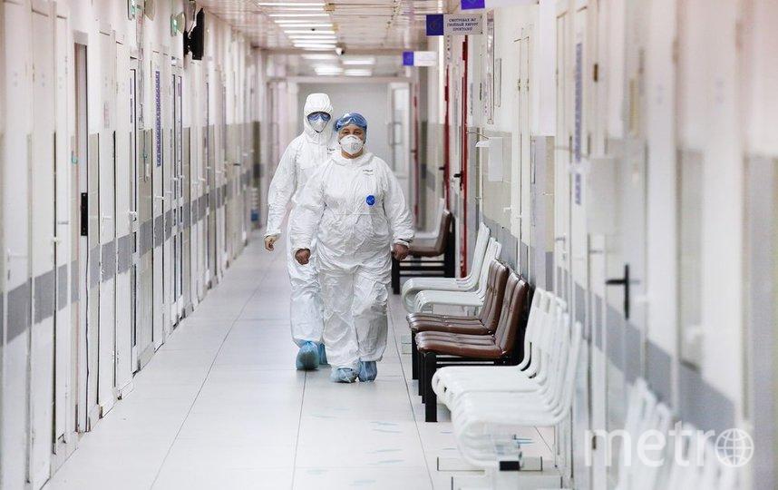 """Весь медицинский персонал перед тем, как вернуться к плановой работе, прошёл тестирование на коронавирус. Фото агентство """"Москва"""""""