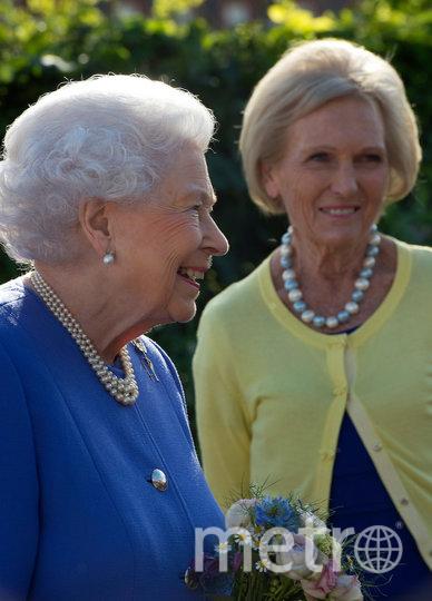 Королева Елизавета II и Мэри Берри. Фото Getty