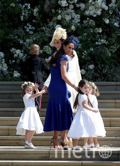 Джессика Малруни на свадьбе Меган Маркл. Фото Getty