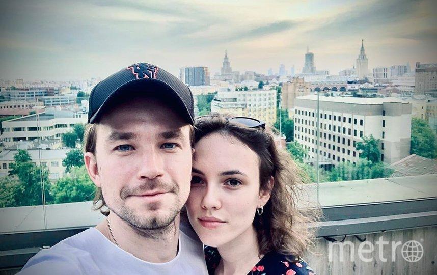 """Саша и Стася. Фото www.instagram.com/actorsashapetrov/, """"Metro"""""""