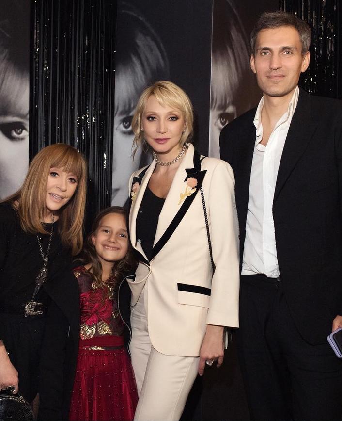 Алла Пугачёва с семьёй дочери. Фото Instagram @orbakaite_k