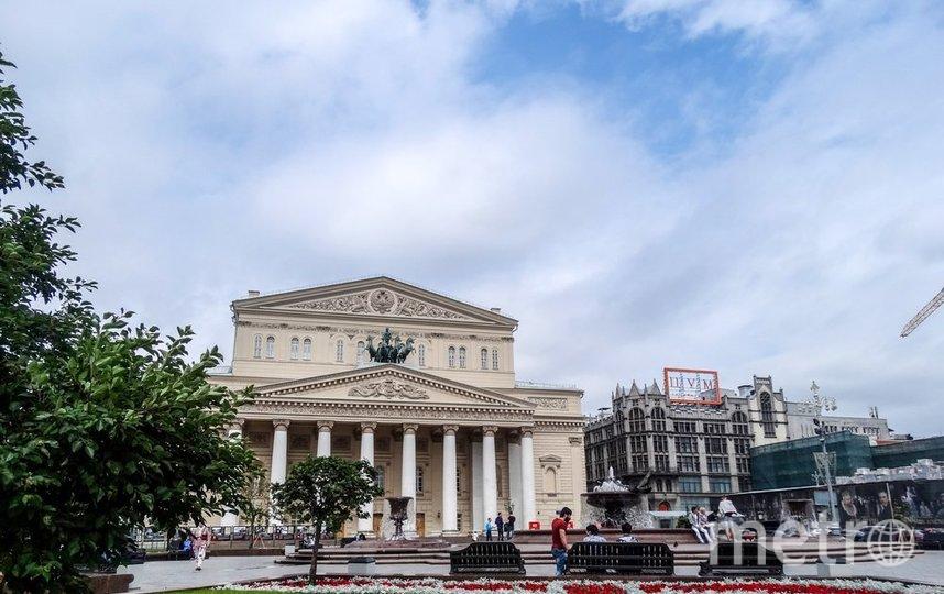 """Пасмурная погода в Москве. Фото агентство """"Москва"""""""