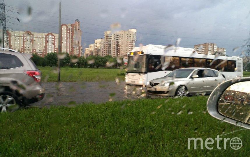 Фото последствий непогоды в городе. Фото ДТП/ЧП, vk.com