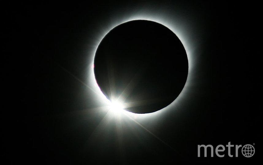 Солнечное затмение год назад. Фото архив, Getty