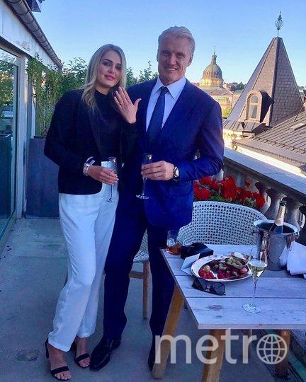 Дольф Лундгрен с возлюбленной. Фото instagram.com/dolphlundgren.