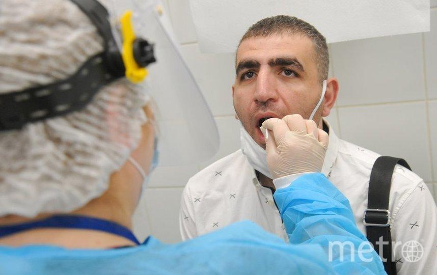 """За всё время пандемии 16,6 миллиона россиян сделали тест на коронавирус. Фото агентство """"Москва"""""""