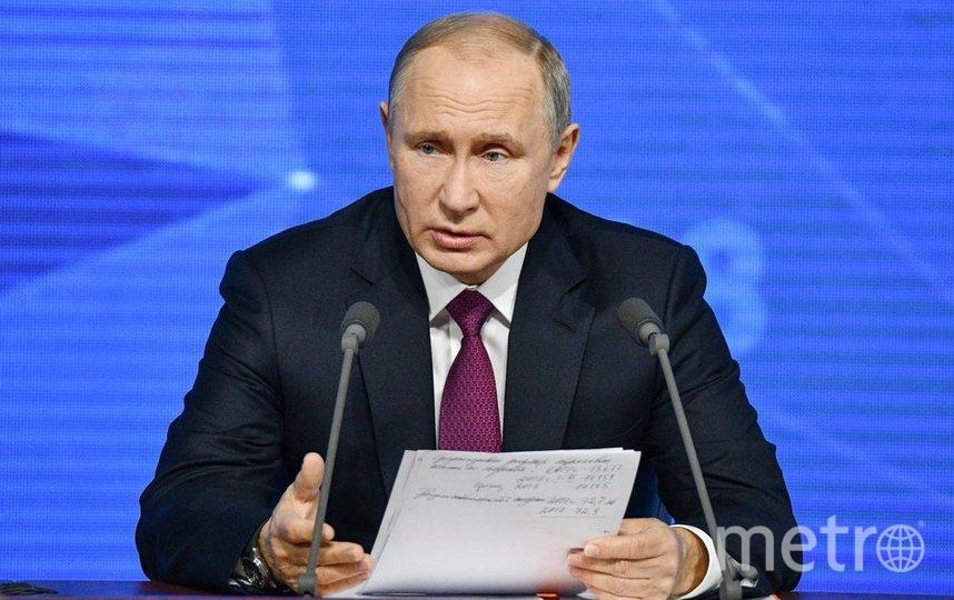 """Президент России Владимир Путин. Фото агентство """"Москва"""""""