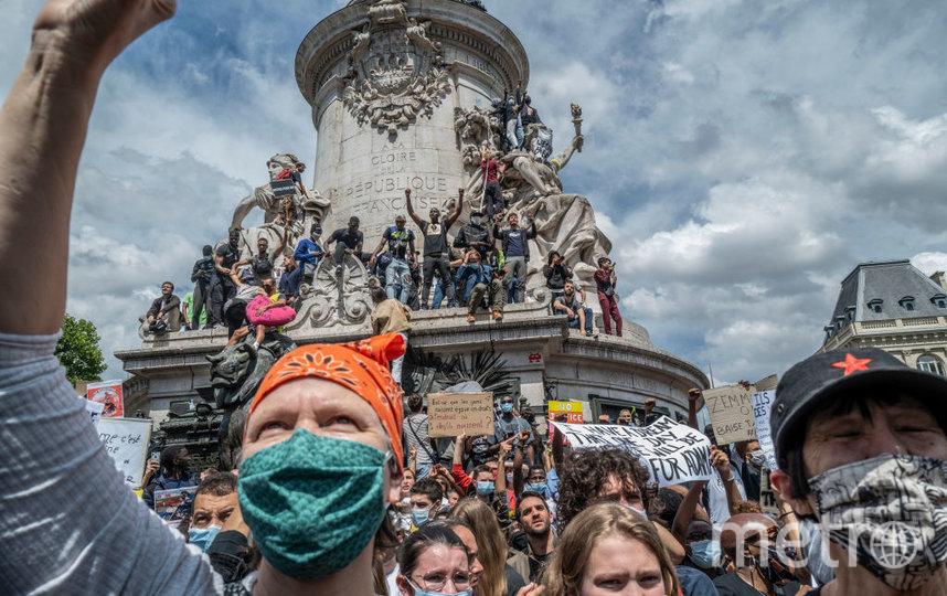 Митинги в Париже, архив. Фото Getty