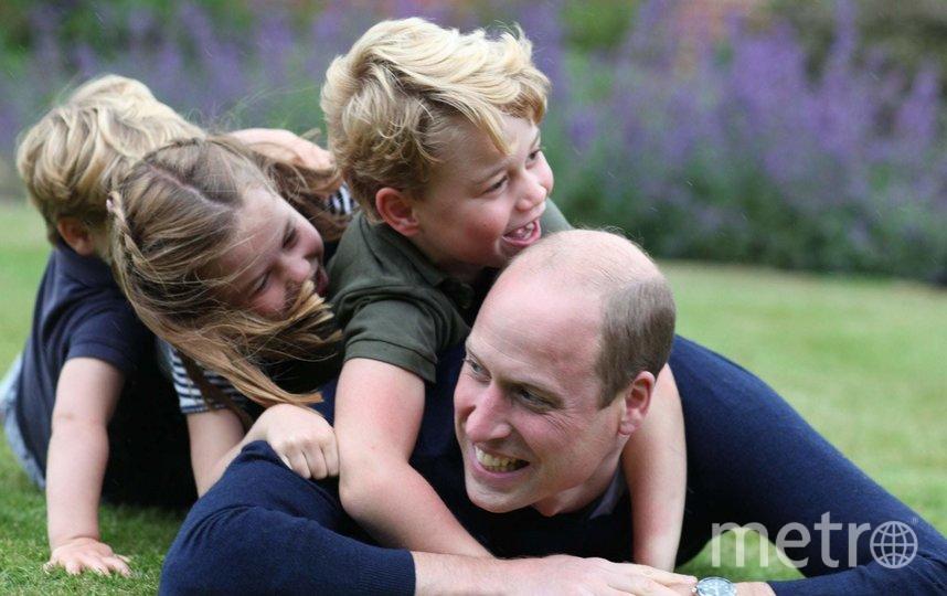 Новое официальное фото принца Уильяма, сделанное его супругой. Фото Getty