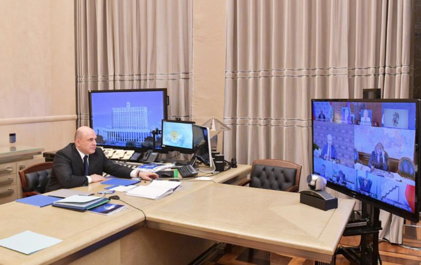 Премьер Мишустин. Фото AFP