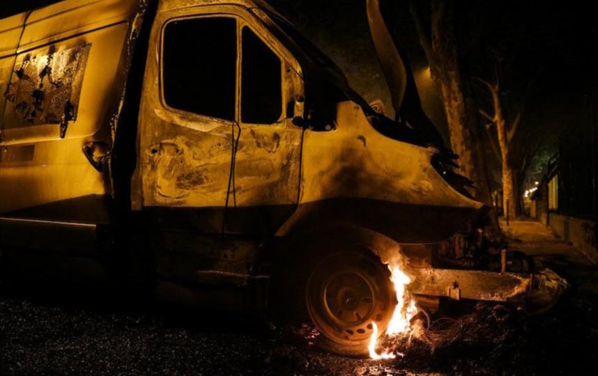 Во время акций протестов пострадали 20 человек. Фото AFP