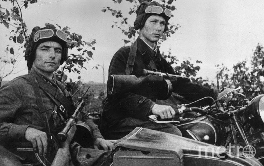 Советские солдаты. Фото Getty