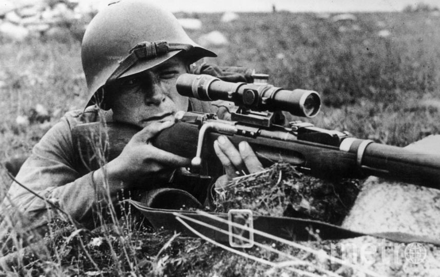 Советский снайпер. Фото Getty