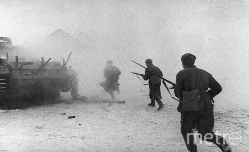 Контрнаступление советских войск. Фото Getty