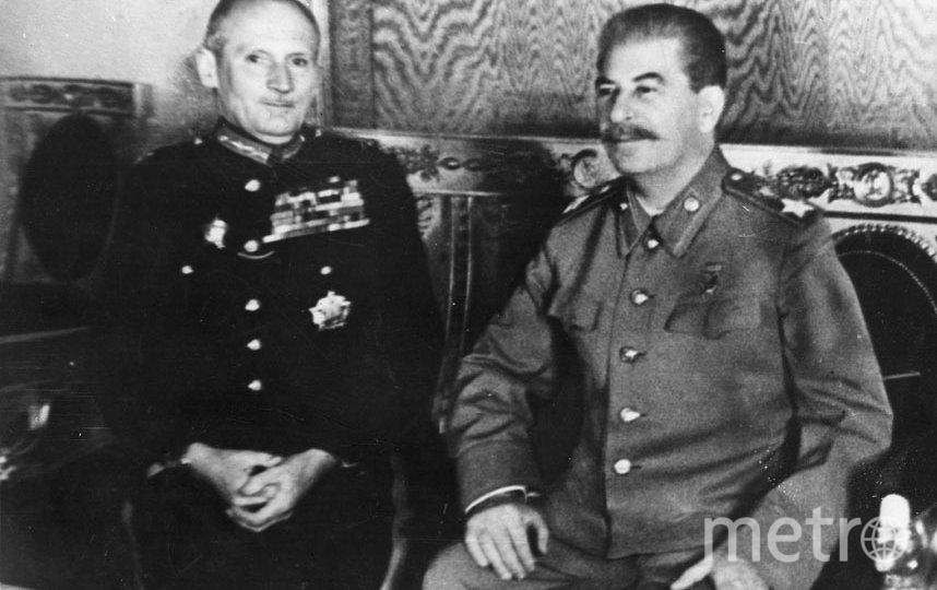 Иосиф Сталин и британский фельдмаршал Бернард Монтгомери. Фото Getty