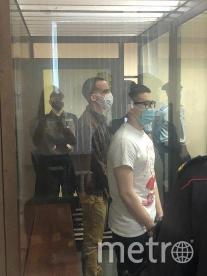 "Фото из зала суда. Фото объединенная пресс-служба судов Петербурга, ""Metro"""