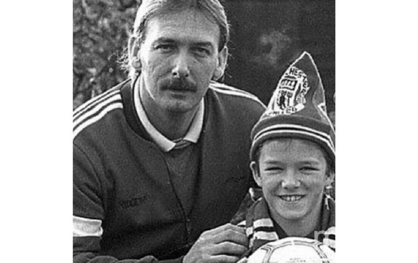 Дэвид Бекхэм с отцом. Фото instagram.com/davidbeckham